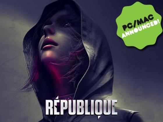 Starthilfe für ein tolles Spiel: RépubliqueKickstart a great game: République