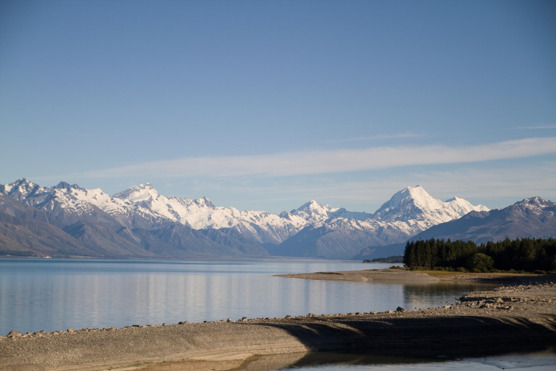 Lake Pukaki to Lindis Valley